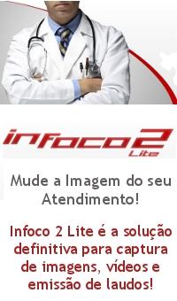 Infoco 2 Lite - Software médico para captura de imagens, vídeos e emissão de laudos